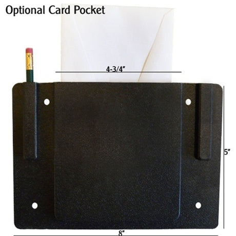 Plastic Card Pocket