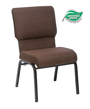 Jubilee Chair in Espresso with Hammered Coppertone Frame