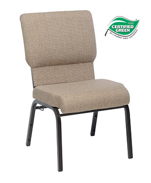 Jubilee Chair in Khaki with Hammered Coppertone Frame