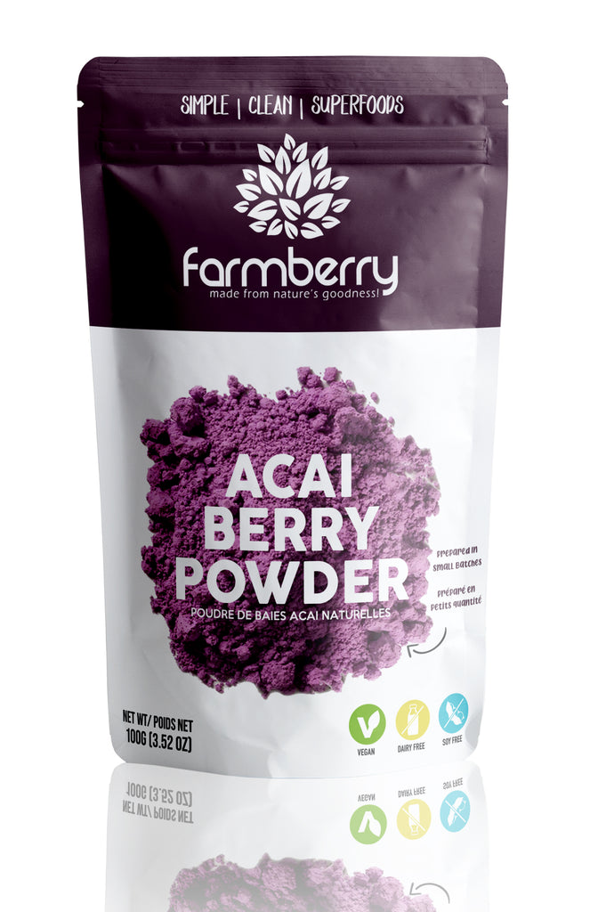 Farmberry 100% Acai berry Powder 100g