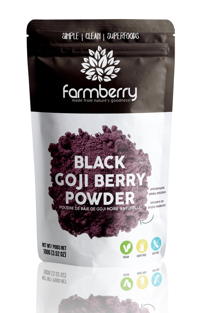 Farmberry 100% Black Goji Berry Powder 100g