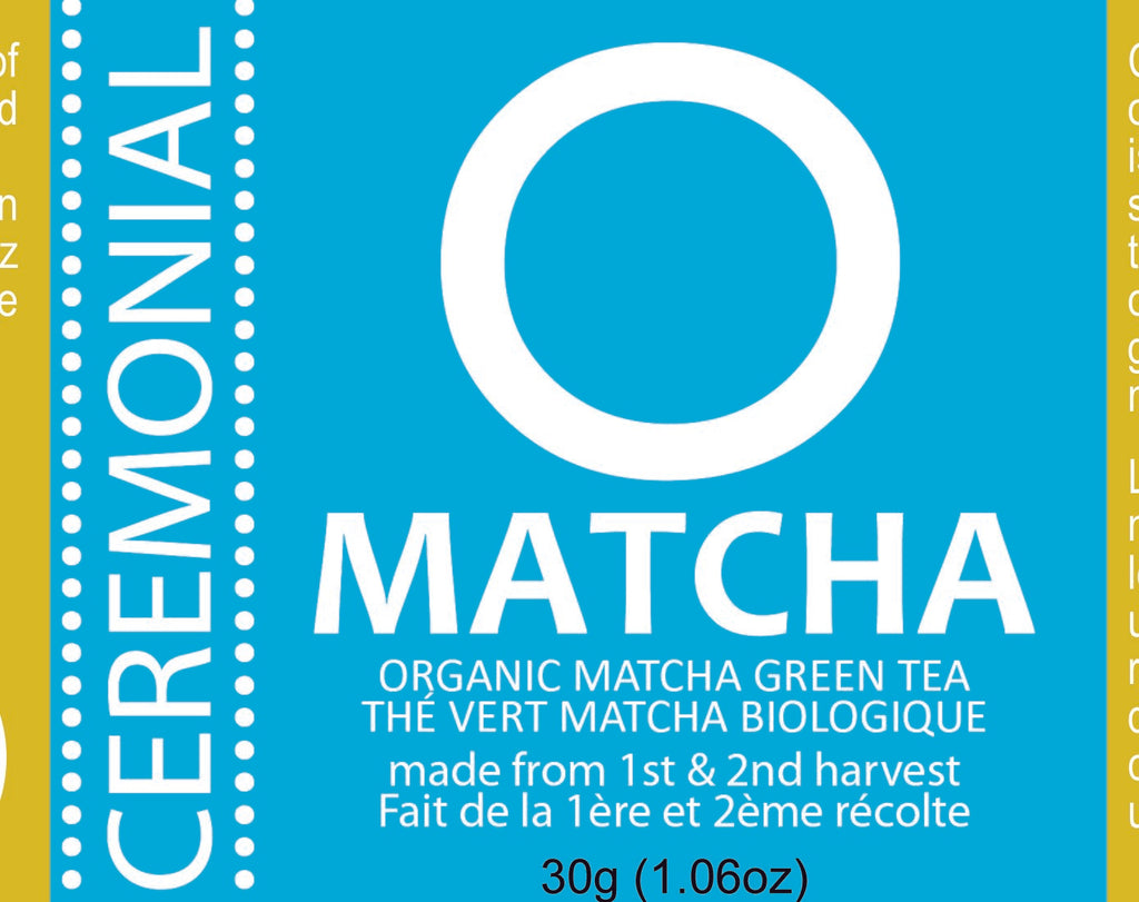 OMATCHA Organic Ceremonial Matcha Green Tea 30g