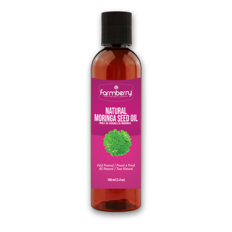 Farmberry 100% Natural Cold Pressed Moringa Oil 100ml