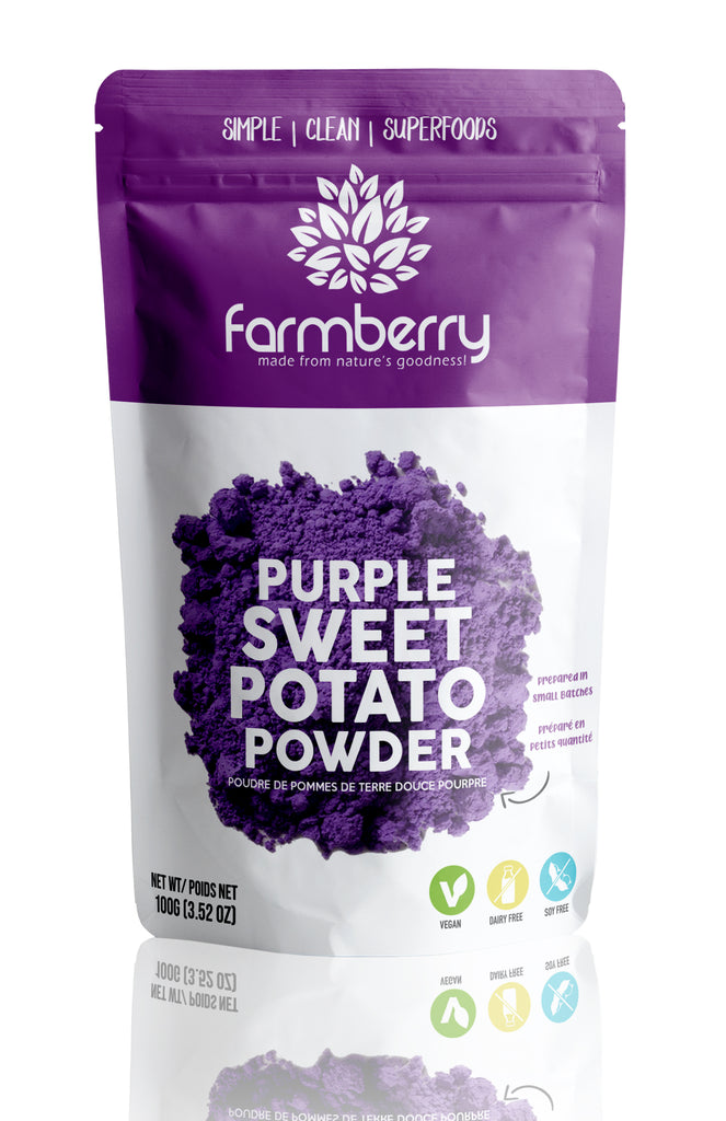 Farmberry 100% Natural Purple Sweet Potato Powder 100g