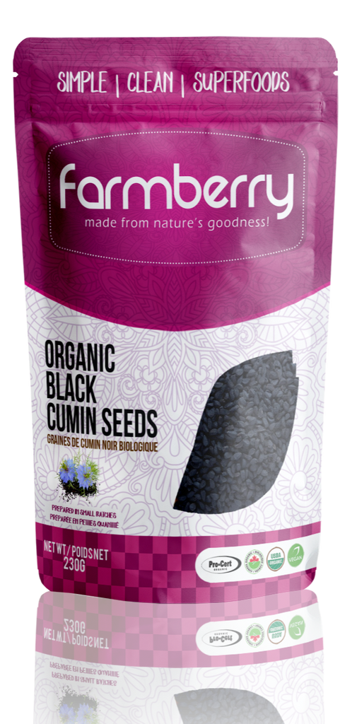Organic Black Cumin Seeds (Black Seeds)