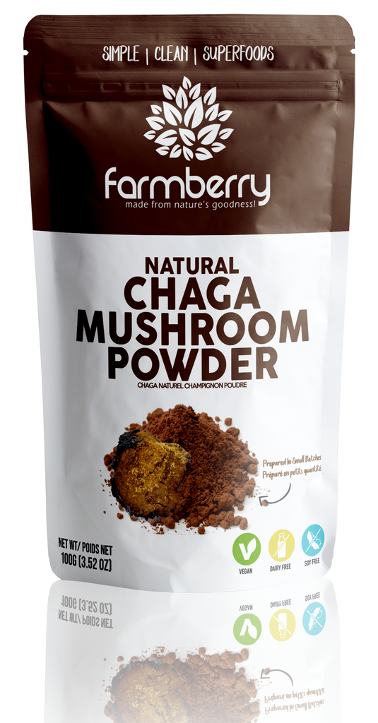 Farmberry 100% Natural Chaga Mushroom Powder 100g