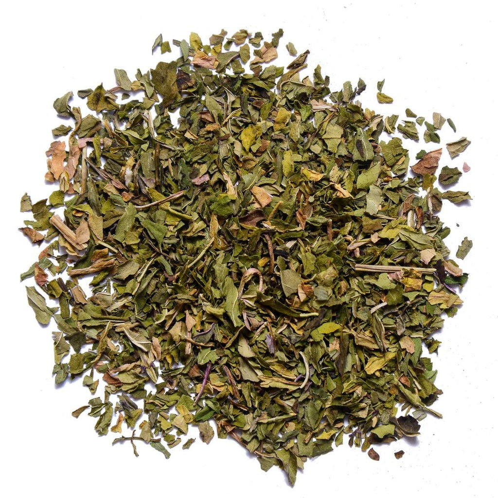 Organic Peppermint Tea Cut