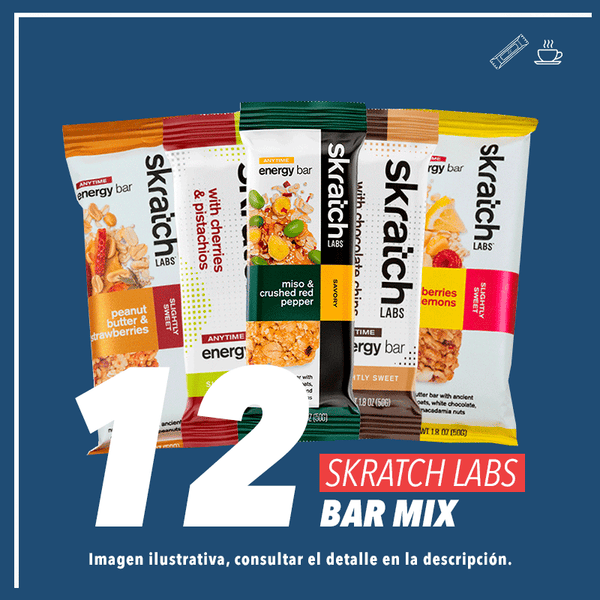 Skratch Labs Energy Bar Mix 50gr c/12pz