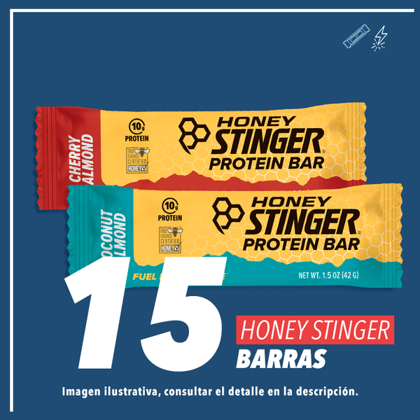 Honey Stinger 10gr Protein Bar Mix c/15pz