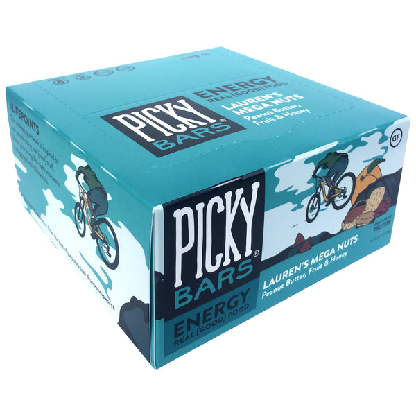 Picky Bars Lauren's Mega Nuts 45gr c/10 pz