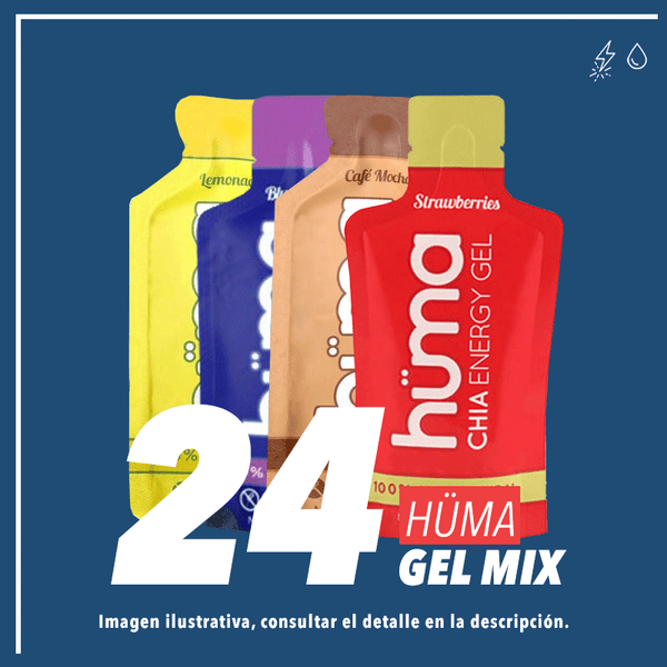 Huma Chia Energy Gel Mix c/24 pz