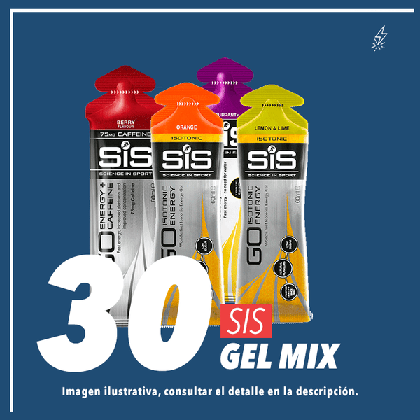 SIS GO Gel Mix c/30 pz