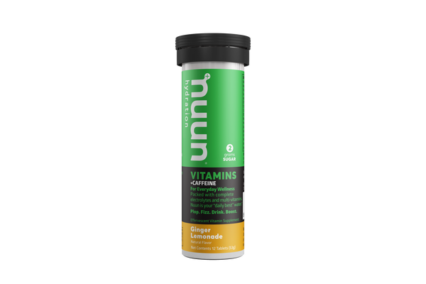 Nuun Vitamins Energy Ginger Lemonade 53gr