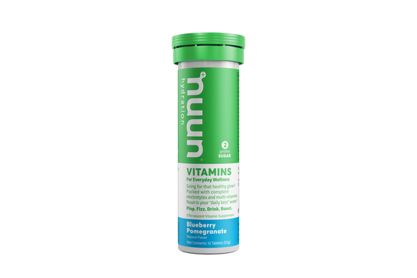 Nuun Vitamins Blueberry Pomegranate 53gr