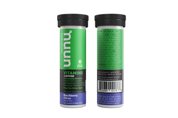 Nuun Energy + Vitamins  Blackberry Citrus 56gr