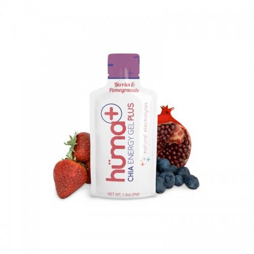 Huma Plus Chia Energy Gel Berries & Pomegranate 41gr c/24 pz