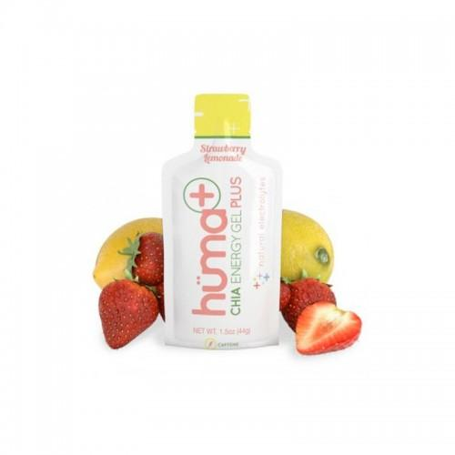 Huma Chia Energy Gel Plus Strawberry w/caffeine Lemonade