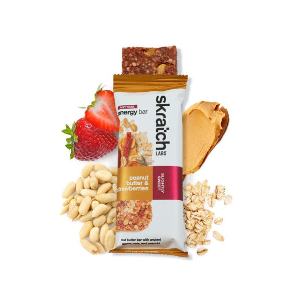 Skratch Labs Energy Bar - Peanut Butter & Strawberries 50gr