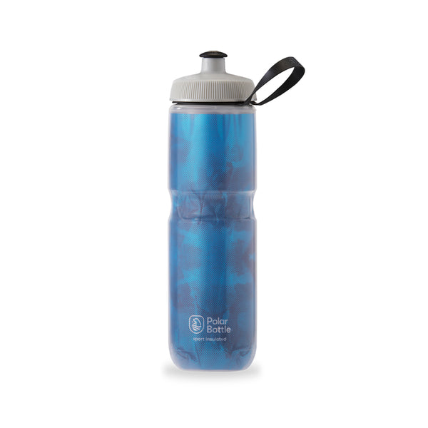 Polar Bottle Sport Insulated Fly Dye 24 oz Electric Blue