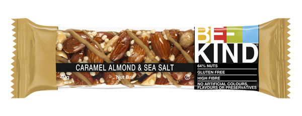 Be Kind Caramel Almond & Sea Salt 40gr c/12 pz