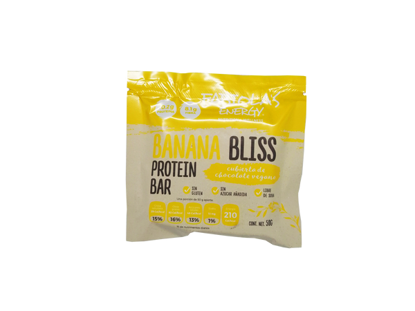 Fabiola´s Energy Protein Bar Banana Bliss 50gr