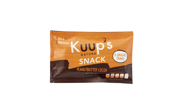 Kuups Barra Snack Peanut Butter Cocoa 50gr