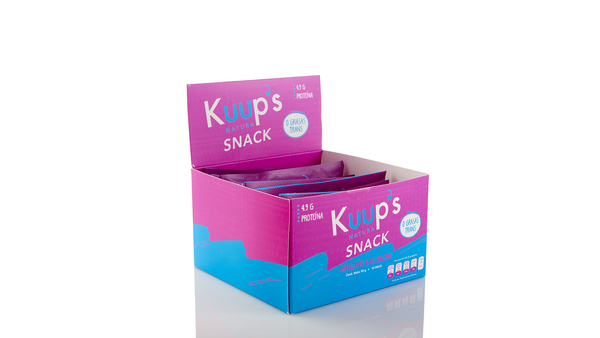 Kuups Barra Snack Blueberry 50gr c/10 pz