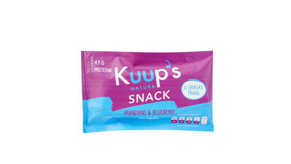 Kuup´s Barra Snack Blueberry & Arándano
