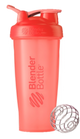 Blender Bottle Clasico Coral 28oz