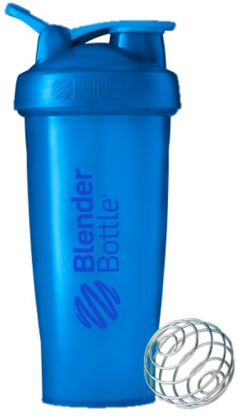 Blender Bottle Clasico Cyan 28oz
