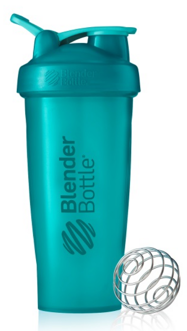 Blender Bottle Clasico Aqua 28 Oz