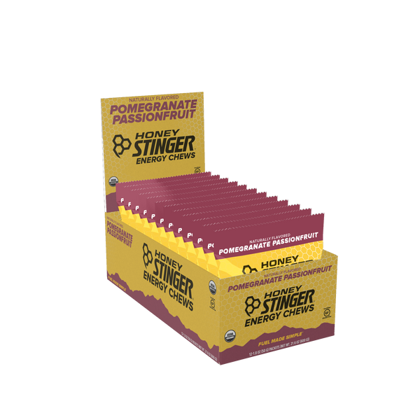 Honey Stinger Chews Pomegranate 50gr c/12 pz