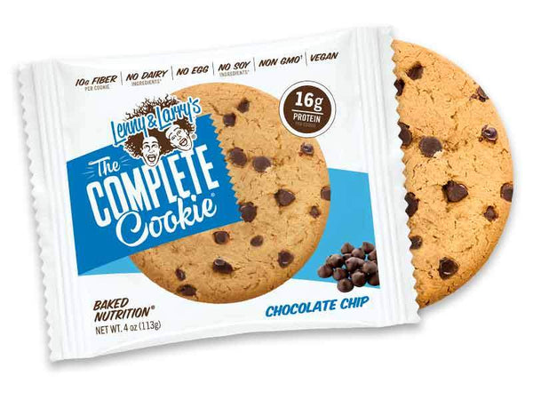 Lenny & Larrys The Complete Cookie Chocolate Chip 113gr c/12 pz