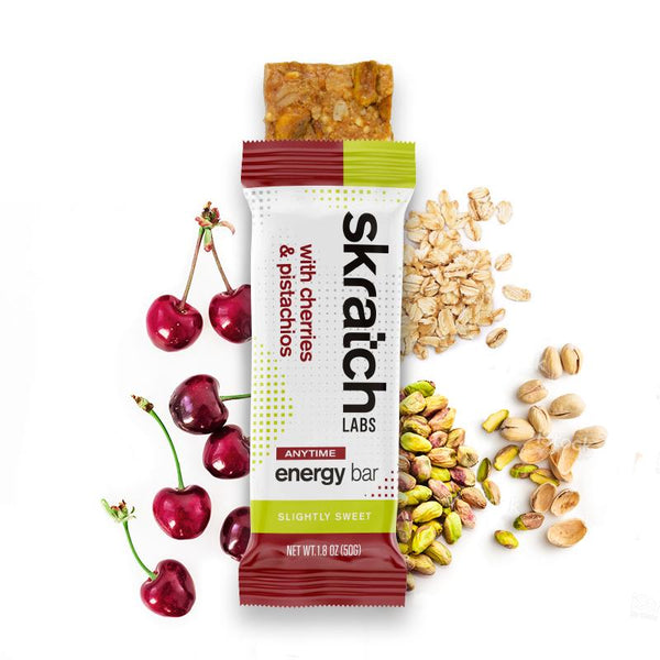 Skratch Labs Energy Bars Cherries & Pistachios 50gr