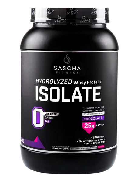 Sascha Fitness Hydrolized Whey Protein Chocolate 907gr