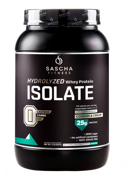 Sascha Fitness Hydrolized Whey Protein Cookies & Cream