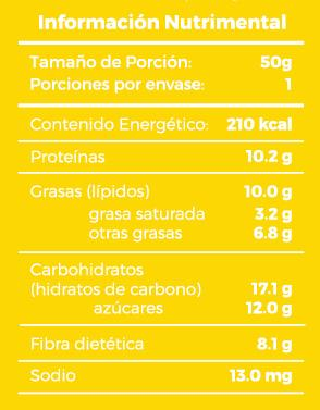 Fabiola's Energy Protein Bar Banana Bliss 50 gr c/10 pz