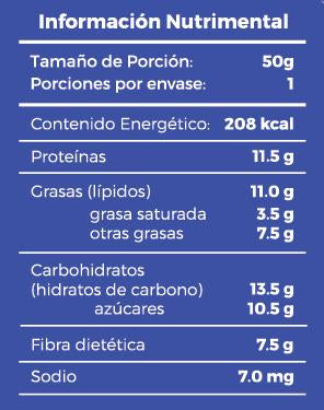 Fabiola's Energy Protein Bar All-In Berry 50gr