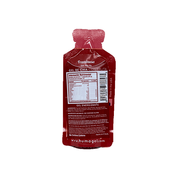 Huma Chia Energy Gel Raspberries 42gr