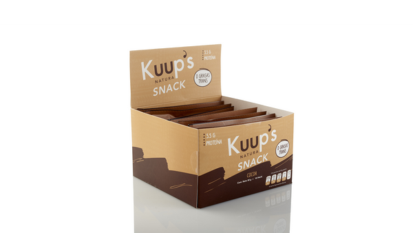 Kuups Barra Snack Cocoa 50gr c/10 pz