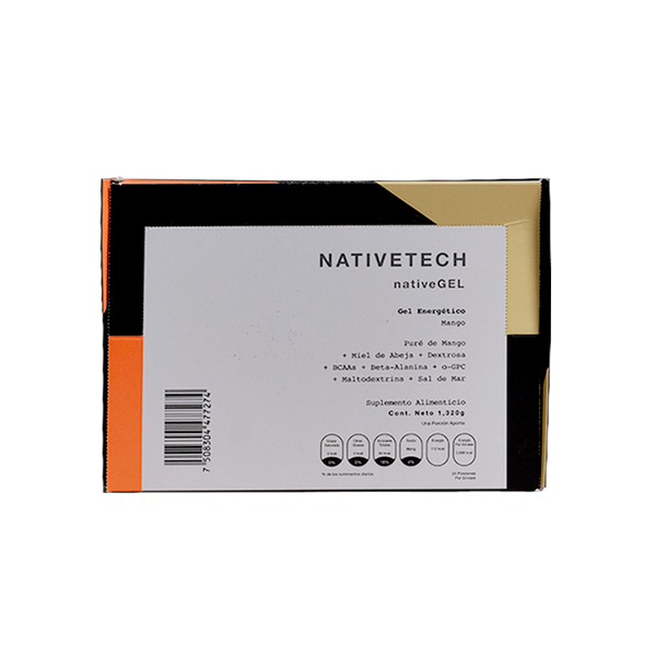 Nativetech Gel Mango 54gr c/24 pz