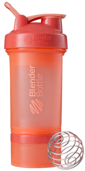 Blender Bottle Prostak Coral 22 Oz