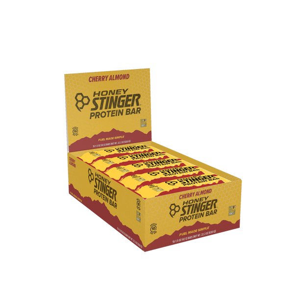 Honey Stinger 10gr Protein Bar Dark Chocolate Cherry Almond 42gr c/15pz