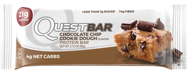 Quest Nutrition Protein Bar Chocolate Chip Cookie Dough 60gr c/12 pz