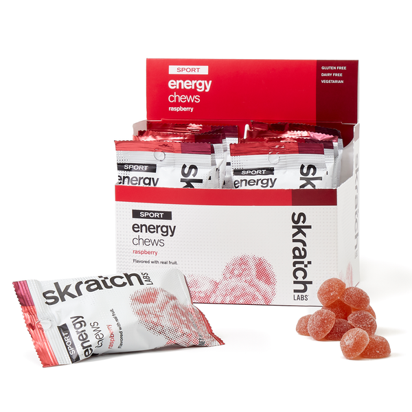 Skratch Labs Energy Chews Raspberry 50gr c/10 pz