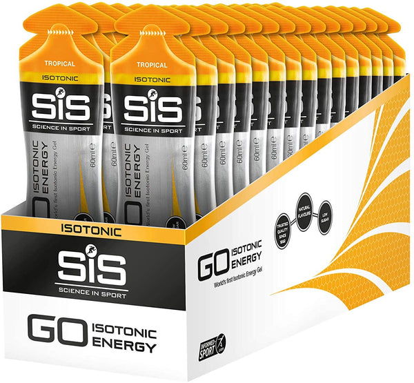 SIS GO Isotonic Gel Tropical 60ml c/24pz