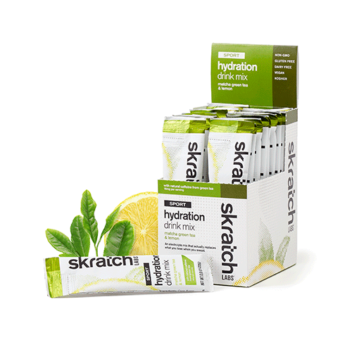 Skratch Labs Hydration Mix Matcha Green Tea and Lemon 24gr c/20 pz