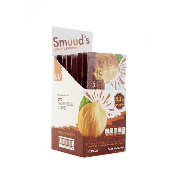 Smuuds crema de Avellana Chocolate 30gr
