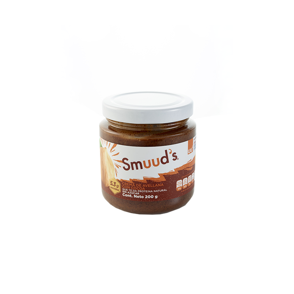 Smuuds crema de Avellana Chocolate frasco 200gr