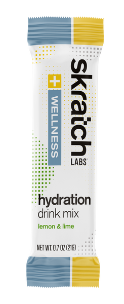 Skratch Labs Wellness Hydration Lemon Lime 8/21gr